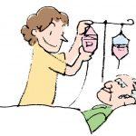 ひ乃木ケアリング看護ステーションの医療器具の管理と処置